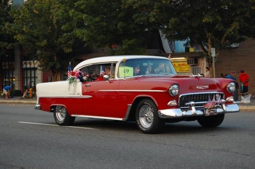 Vintage Car Show Lake City Summer Festival Parade - Vintage car show